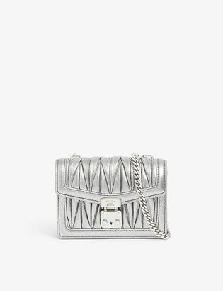 Miu Miu Matelasse Trick quilted leather wallet
