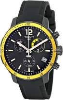 Tissot Men's T0954493705700 Quickster Analog Display Swiss Quartz Watch