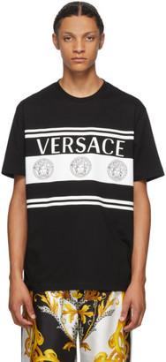 Versace Black Vintage Medusa Mitchel T-Shirt