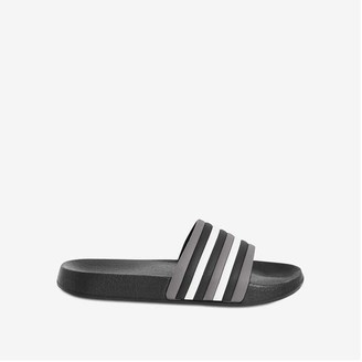 Joe Fresh Kid Boys' Slides, Black (Size M)