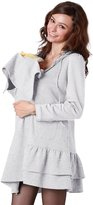 Sweet Mommy Ruffle Hem Hoodie with baby pouch GRXL
