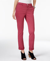Style&Co. Style & Co. Petite Chino Boyfriend Pants, Only at Macy's