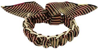 Missoni Printed Viscose Scarf Bracelet W/ Chain