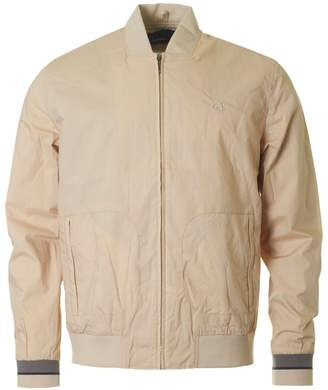 Fred Perry Authentics Lightweight Bomber Jacket Colour: IVORY, Size: S