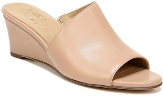 Naturalizer Wedge Heel Open Toe Slides - Sansa