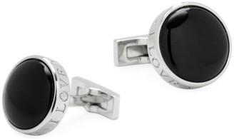 Cufflinks Inc. Ox & Bull Trading Co. I Love You Enamel & Stainless Steel Cufflinks
