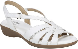 Naturalizer Leather Criss-Cross Sandals - Neka
