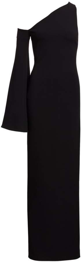 SOLACE London Siara Asymmetric Maxi Dress