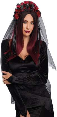 Dreamgirl Women's Gothic Headpiece