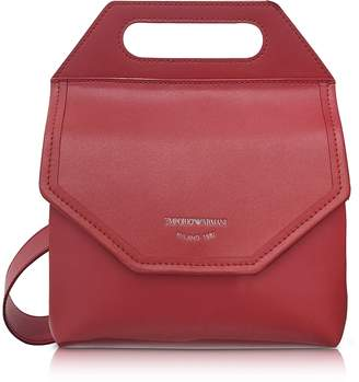 Emporio Armani Large Leather Crossbody Bag