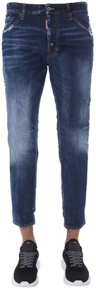 DSQUARED2 Streight Leg Boot Cut Jeans