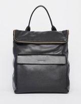 Whistles Leather Verity Backpack