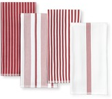 Williams-Sonoma Williams Sonoma Multi-Pack Striped Kitchen Towels, Set of 4, Claret