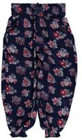 Crafted Kids AOP Floral Harem Trousers Pants Bottoms Girls Lightweight