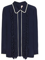 Marni Silk-blend Ruffled Shirt