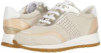 Geox Tabelya 15 (Cream/Light Gold) Women's Shoes