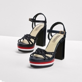 Tommy Hilfiger Leather Sandal Gigi Hadid