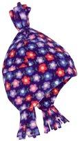 Jo-Jo JoJo Maman Bebe Polarfleece Pixie Hat (Baby) - Purple Floral-0-12 Months