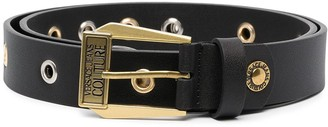 Versace Jeans Couture Buckle-Fastening Leather Belt