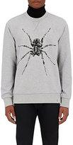 Lanvin Men's Cotton Spider-Beaded Sweatshirt-LIGHT GREY