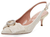 RED Valentino Lace Slingback Pump