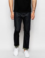 G-star Jeans 3301 Straight Fit Raw Brooklyn Dark Denim