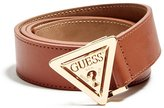 GUESS GUE Women' Triangle Buckle Belt