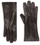 Saks Fifth Avenue Collection Silk-Lined Leather Gloves