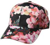 Collection XIIX Floral Silk Baseball Baseball Caps