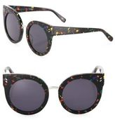 Stella McCartney 51MM Multicolor Cat Eye Sunglasses