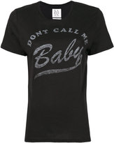 Zoe Karssen Don't Call Me Baby T-shirt