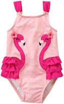 Gymboree Flamingo Swimsuit (Toddler/Kid) - Almond Blossom - 2T