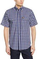 Wrangler RIGGS WORKWEAR Men's Foreman Plaid Work Shirt