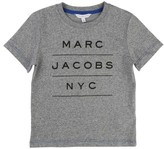 Little Marc Jacobs Boy's Official Logo T-Shirt