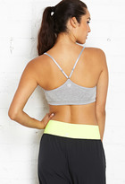 Forever 21 Low Impact- Heathered Sports Bra
