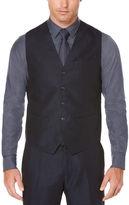 Perry Ellis Navy Linen Suit Vest