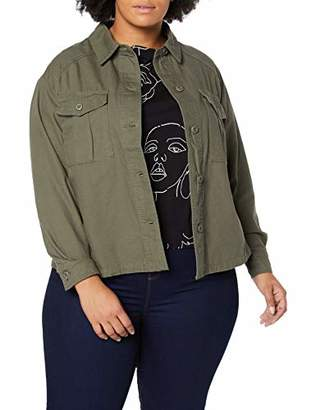 New Look Curves Women's Bonnie Cropped Jacket,(Size:)