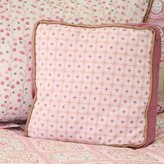 Caden Lane Modern Vintage Collection Bedding Square Pillow, Pink by