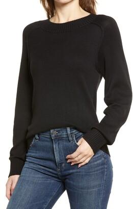 Nordstrom Cozy Ballet Neck Sweater