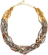 Nakamol Chunky Beaded Torsade Statement Necklace, Multi