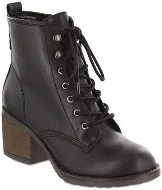 Mia Lace-Up Ankle Booties - Liam