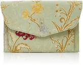 Hayward Venetian Silk-Jacquard Clutch
