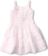 Biscotti Birthday Girl Sleeveless Dress (Little Kids) (White) - Apparel