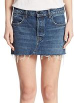 Alexander Wang Denim Five-Pocket Mini Skirt