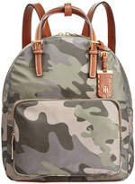 Tommy Hilfiger Julia Medium Camo Double Handle Backpack