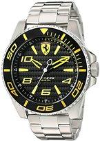Ferrari 830330 'XX KERS' Quartz Stainless Steel Watch