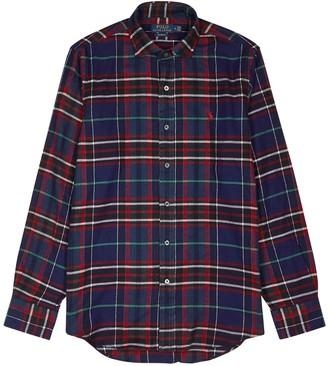 Polo Ralph Lauren Checked slim-fit cotton shirt