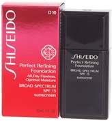 Shiseido Perfect Refining Foundation SPF 16 D10 Golden
