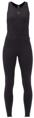 adidas by Stella McCartney Truepurpose Cut-out Technical Jumpsuit - Black