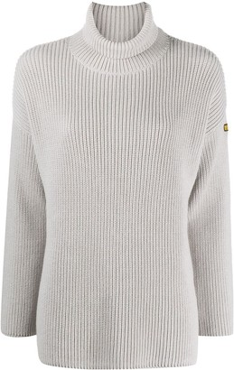 Barbour Purl-Knit Roll-Neck Jumper